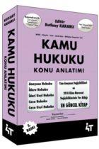 4T Yayınları KPSS ve Mülakat Sınavları İçin Kamu Hukuku Konu Anlatımı 5. Baskı