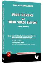 4T Yayınları Vergi Hukuk ve Türk Vergi Sistemi
