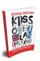 Benim Hocam Yayınları 2018 ÖABT Fizik Öğretmenliği Cep Serisi