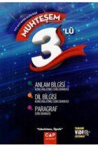 Çap Yayınları TYT AYT KPSS ALES DGS Muhteşem 3 lü Set Tamamı Video Çözümlü Anlam Bilgisi Dil Bilgisi Paragraf