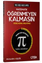 Çözüm Yayınları Hocalara Geldik YKS DGS ALES KPSS Matematik Öğrenmeyen Kalmasın Video Konu Anlatımlı