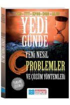 Evrensel İletişim Yayınları YKS-TYT-KPSS-DGS-ALES Yedi Günde Tamamı Çözümlü Yeni Nesil Problemler ve Çözüm Yöntemleri