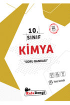 KafaDengi Yayınları 10. Sınıf Kimya Soru Bankası