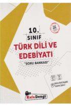 KafaDengi Yayınları 10. Sınıf Türk Dili ve Edebiyatı Soru Bankası
