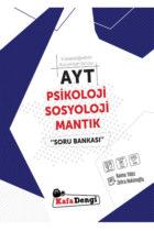 KafaDengi Yayınları AYT Psikoloji Sosyoloji Mantık Soru Bankası