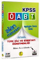 Pelikan Yayınları 2018 ÖABT Alan Memnun Türk Dili ve Edebiyatı Öğretmenliği Bilgi Destekli Soru Bankası