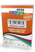 Pelikan Yayınları 2018 ÖABT Sosyal Bilgiler Öğretmenliği 1001 Çözümlü Soru