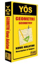Tasarı Yayınları 2018 YÖS Geometri Konu Anlatımı