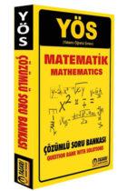 Tasarı Yayınları 2018 YÖS Matematik Çözümlü Soru Bankası