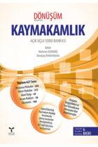 Umuttepe Yayınları Kaymakamlık Dönüşüm Açık Uçlu Soru Bankası