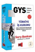 Yargı Yayınları GYS Türkiye İş Kurumu Açıklamalı ve Çözümlü Soru Bankası