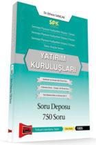 Yargı Yayınları SPK Yatırım Kuruluşları Soru Deposu 750 Soru