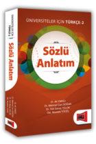 Yargı Yayınları Sözlü Anlatım Üniversiteler İçin Türkçe – 2