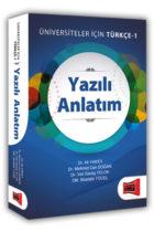Yargı Yayınları Yazılı Anlatım Üniversiteler İçin Türkçe – 1