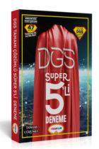 Yediiklim Yayınları 2018 DGS Süper 5 li Tamamı Çözümlü Deneme