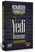 Yediiklim Yayınları Komiser Yardımcılığı Sınavlarına Hazırlık Tamamı Çözümlü 7 Deneme Güncellenmiş Baskı
