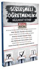 Benim Hocam Yayınları Sözleşmeli Öğretmenlik Mülakat Kitabı