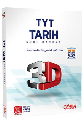 Çözüm Yayınları TYT Tarih 3D Soru Bankası