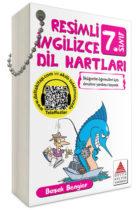 Delta Kültür Yayınları 7. Sınıf Resimli İngilizce Dil Kartları