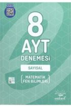 Endemik Yayınları AYT Sayısal 8 Deneme