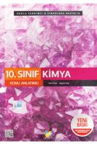 FDD Yayınları 10. Sınıf Kimya Konu Anlatımlı