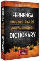 Ferhenga Kurmanci İngilizi – English Kurdish Dictionary