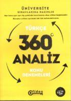 Fides Yayınları YGS Türkçe 360 Derece Analiz Konu Denemeleri