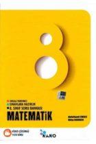 Mikro Hücre Yayınları 8. Sınıf Nano Matematik Video Çözümlü Soru Bankası