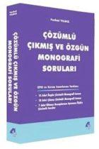 4T Yayınları Monografi Soruları