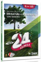 Sınav Yayınları 8. Sınıf LGS Din Kültürü ve Ahlak Bilgisi 24 Adımda Özel Konu Anlatımlı Soru Bankası