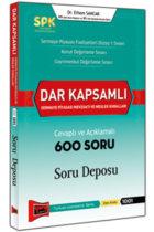 SPK Dar Kapsamlı Sermaye Piyasası Mevzuatı ve Meslek Kuralları Cevaplı ve Açıklamalı 600 Soru Deposu Yargı Yayınları
