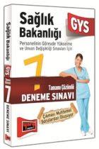 Yargı Yayınları GYS Sağlık Bakanlığı Tamamı Çözümlü 7 Deneme Sınavı