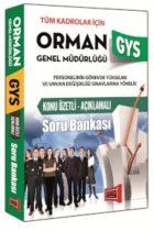 Yargı Yayınları GYS Orman Genel Müdürlüğü Konu Özetli Açıklamalı Soru Bankası
