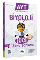 Biders Yayıncılık AYT Biyoloji 1001 Soru Bankası Karekod Çözümlü