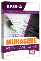 657 Yayınları 2019 KPSS A Grubu Muhasebe Konu Anlatımı