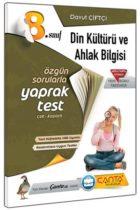 Çanta Yayınları 8. Sınıf Din Kültürü ve Ahlak Bilgisi Çek Kopart Yaprak Test