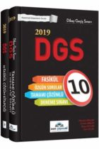 İrem Yayıncılık 2019 DGS Tamamı Çözümlü 10 Fasikül Deneme