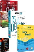 Yargı Yayınları 2019 KPSS Genel Yetenek Genel Kültür 3'lü Soru Seti HEDİYELİ