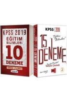 2019 KPSS Eğitim Bilimleri Tamamı Çözümlü 25 Deneme Seti