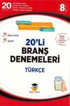 Zeka Küpü Yayınları 8.Sınıf Türkçe 20′ li Branş Denemeleri