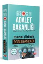 Data Yayınları 2019 GYS Adalet Bakanlığı Tamamı Çözümlü Soru Bankası