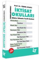 4T Yayınları Karşılaştırmalı İktisat Okulları Ders Notları (15.Baskı)