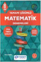 Yanıt Yayınları 8. Sınıf Matematik Tamamı Çözümlü Denemeleri