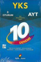 Aydın Yayınları AYT 10 lu Deneme