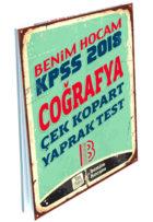 Benim Hocam Yayınları 2018 KPSS Coğrafya Çek Kopart Yaprak Test