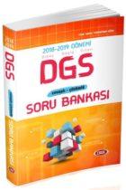 Data Yayınları 2018-2019 Dönemi DGS Cevaplı Çözümlü Soru Bankası