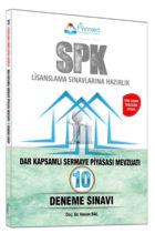 Finansed Yayınları SPK Dar Kapsamlı Sermaye Piyasası Mevzuatı Çözümlü 10 Deneme Sınavı