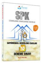 Finansed Yayınları SPK Gayrimenkul Değerleme Esasları 10 Çözümlü Deneme Sınavı