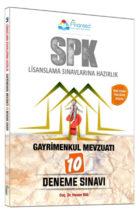 Finansed Yayınları SPK Gayrimenkul Mevzuatı Çözümlü 10 Deneme Sınavı
