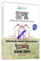 Finansed Yayınları SPK Geniş Kapsamlı Sermaye Piyasası Mevzuatı Çözümlü 10 Deneme Sınavı